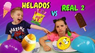 real food vs gummy food