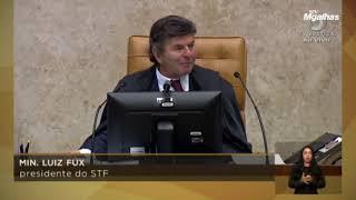 Em última sessão, Fux afirma que 2021 será ano de reerguimento nacional