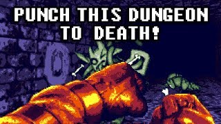 Punch This Dungeon TO DEATH! Fight Knight Beta Demo Quick Play [4k 60fps]