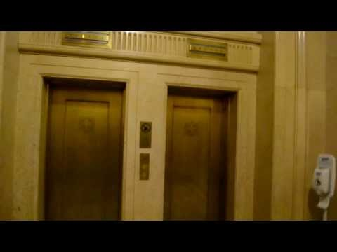 VINTAGE ELEVATOR QUICKIE AT MONTREAL CITY HALL
