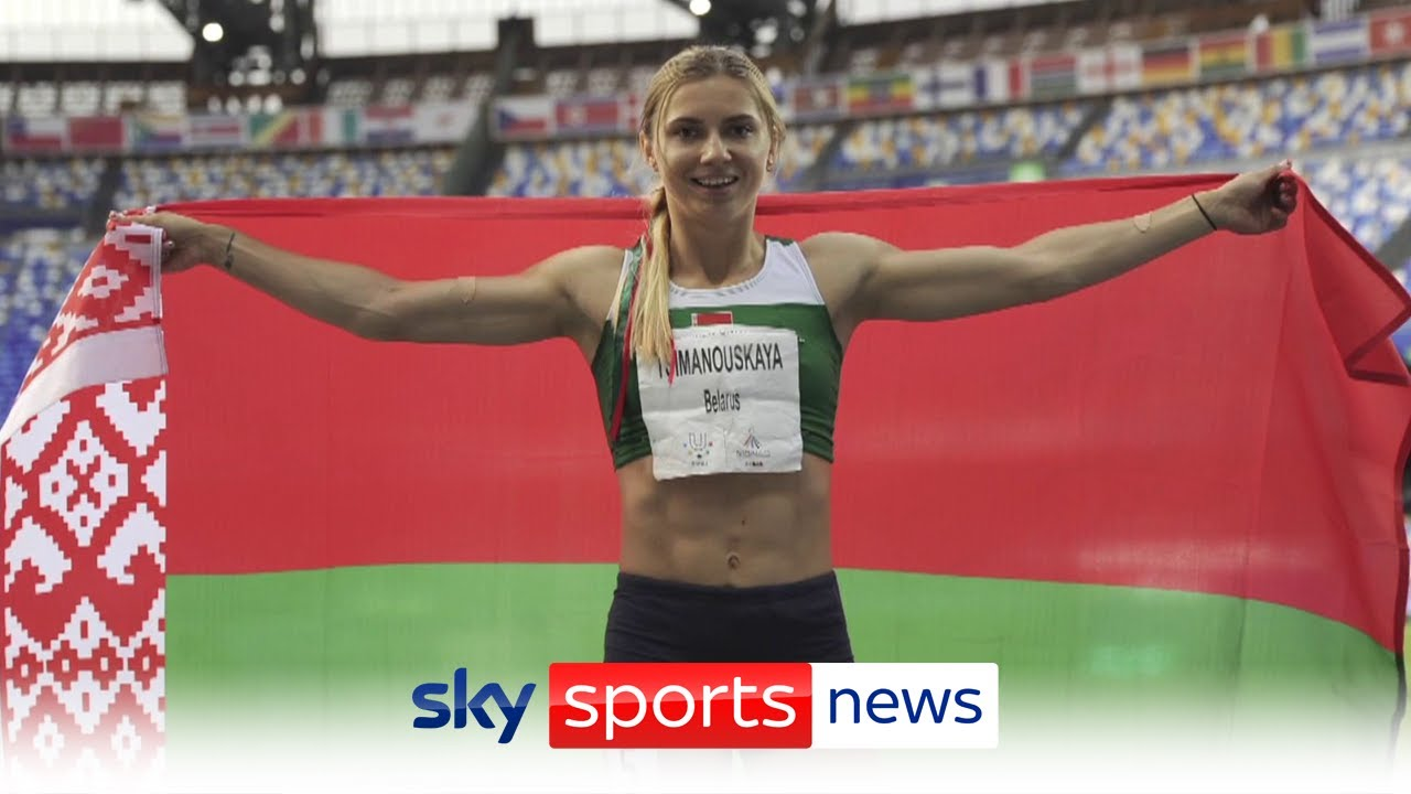 Belarus Olympian Krystina Timanovskaya given Polish visa after being allegedly forced to fly home