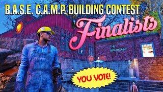 Building Contest Finalists 🏅 FALLOUT 76 B.A.S.E. C.A.M.P.