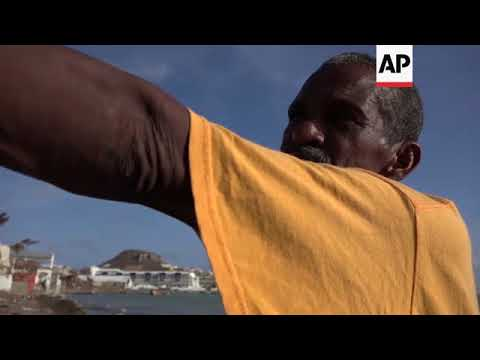 Sint Maarten residents without food and water