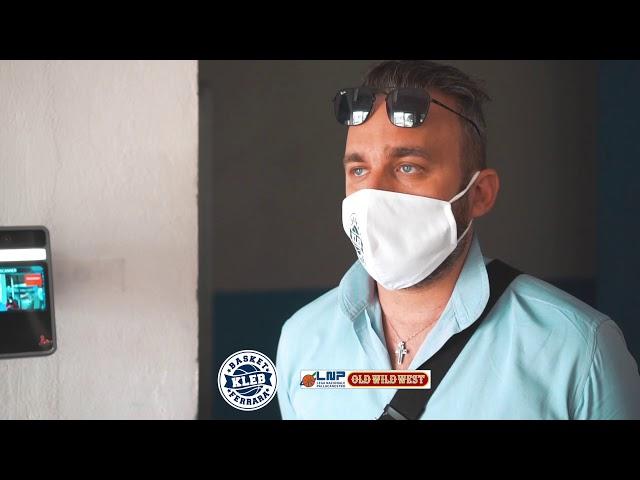MONTATO IL TERMOSCANNER: LE PAROLE DEL PRESIDENTE D'AURIA