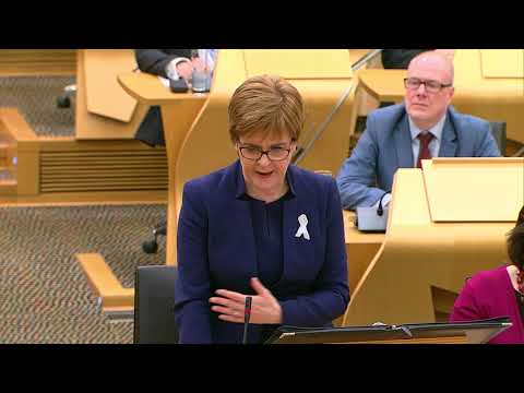 First Minister's Questions - 29 November 2018