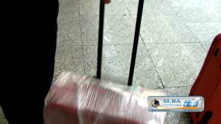 SIBA baggage wrapping - protect your luggage at the airport thumbnail