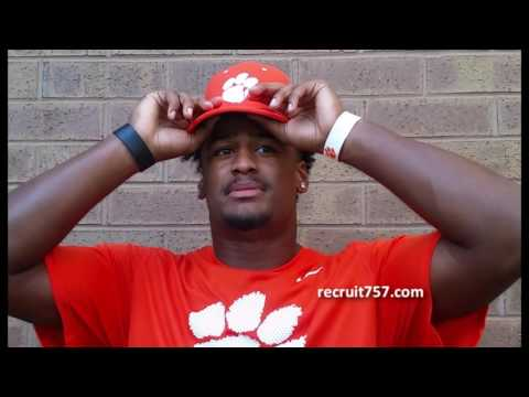Cox DE Jordan Williams Commits to Clemson
