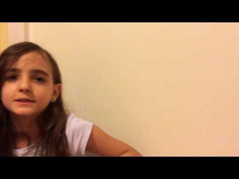 Italiano para crianças - Verbo Cantare