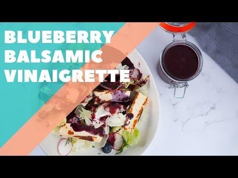 Blueberry Balsamic Vinaigrette | Good Chef Bad Chef S10 E20
