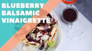 Blueberry Balsamic Vinaigrette   Good Chef Bad Chef S10 E20