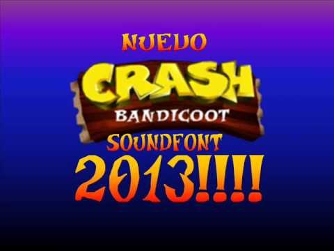 crash bandicoot soundfont 2013 youtube
