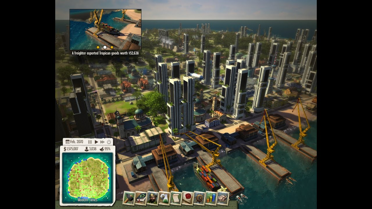 Tropico 5 Espionage - My big city (1.500.000$) - YouTube