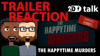 Video The Happytime Murders Trailer REACTION download MP3, 3GP, MP4, WEBM, AVI, FLV Mei 2018