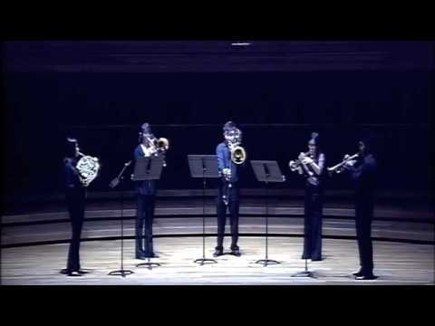 Quintet for Brass by Malcolm Arnold (1st Movt.)