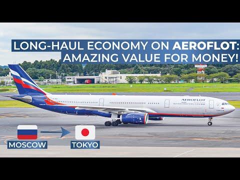 TRIPREPORT   Aeroflot (ECONOMY)   Moscow Sheremetyevo - Tokyo Narita   Airbus A330-300