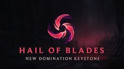Hail of Blades - New Domination Keystone | League of Legends