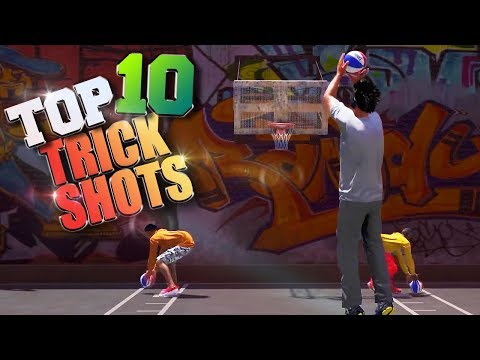 TOP 10 RARE TRICK SHOTS & GAME WINNERS - NBA 2K18 Highlights