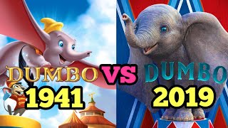 Dumbo (1941) and Dumbo (2019) - Movie Comparing (w/ Dumbo Review)