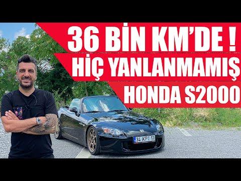 36 Bin Km'de Hiç Yanlanmamış | Honda S2000