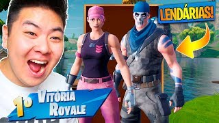 I WON 2 LEGENDARY SKINS * AND RARE * OF FORTNITE AND VENCI!! -Fortnite Battle Royale
