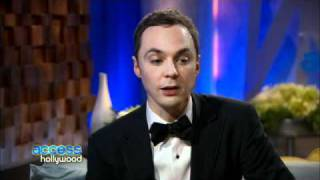 Backstage At The 2011 Golden Globes: Jim Parsons