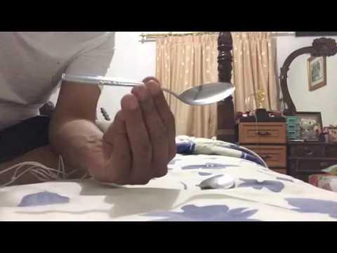 Spoon bending trick revealed