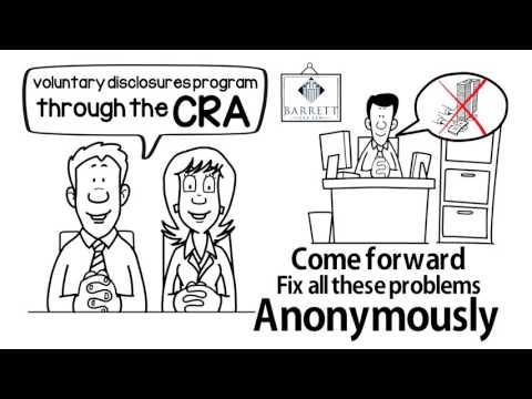 CRA - Voluntary Disclosures Program (VDP) - Barrett Tax Law - Canada's Tax Lawyers