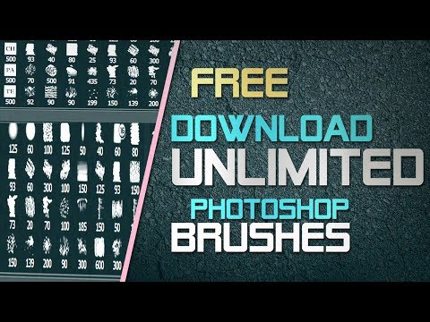 Free Download Any Photoshop Brushes | Install Brushes & Use | All Versions CC, CS