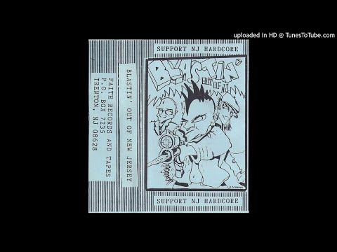 Blastin' Out Of New Jersey - Side A (Hardcore, Punk Comp.)