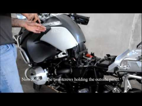 Installing a power socket on 2011 BMW R1200GS Adventure