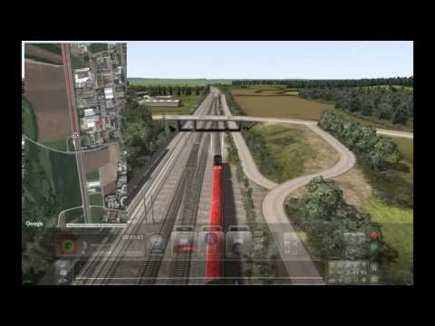 Train Simulator 2016 - Augsburg to Starnberg with Train Maps Live