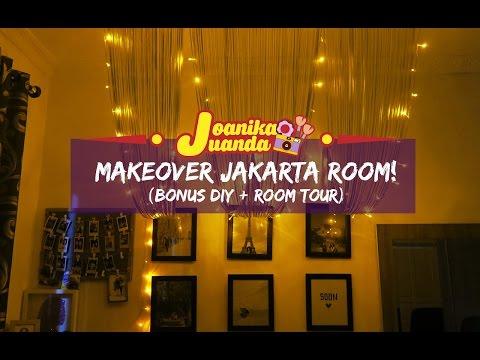 SPECIAL VLOG | MAKEOVER Jakarta Room! (Bonus DIYs + Room Tour)