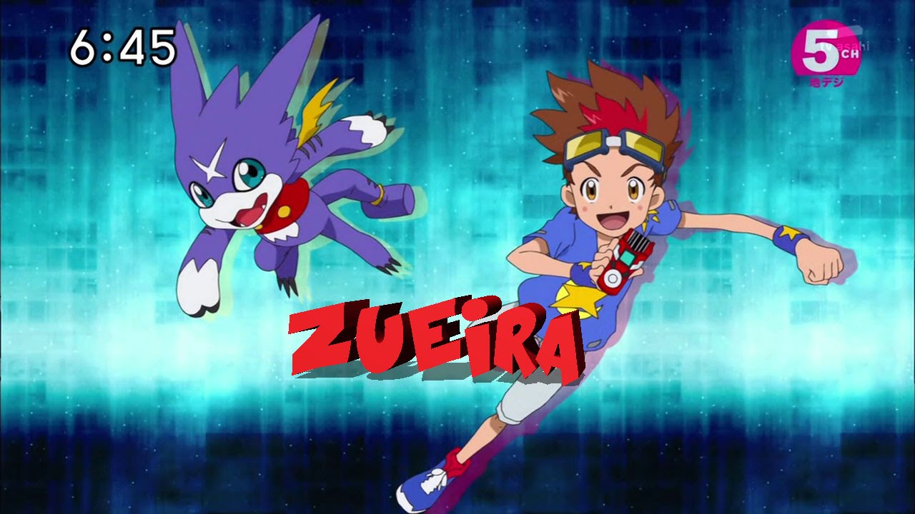 Tradução Hilária: Digimon Xros Wars II (Hunters) Abertura 1 #1