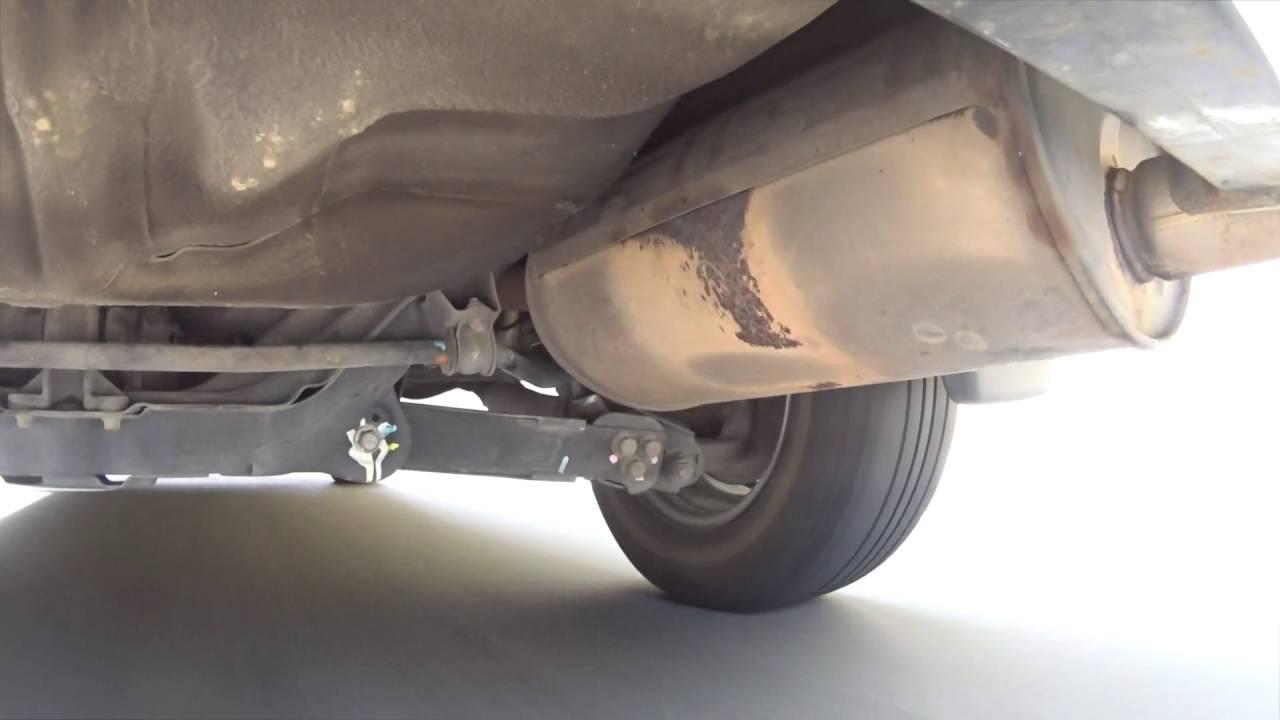 2004 Honda CRV rear end noise shake vibration shudder rattle
