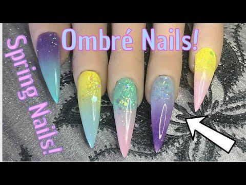 Spring Ombré Nails! Nail Tutorial | Nail Sugar