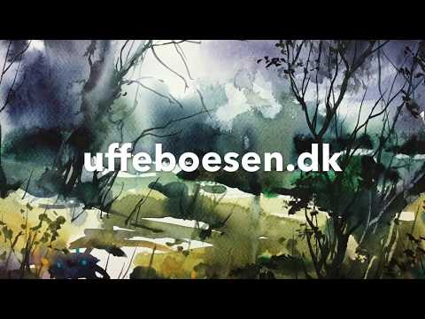 Dramatic Nature Watercolor Landscaping In Quick View Demonstration Painting Course