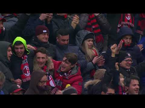 Il gol di Andre Silva - Milan - Chievo 3-2 - Giornata 29 - Serie A TIM 2017/18