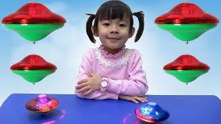 Đồ Chơi Đĩa Quay Phát Sáng ❤ AnAn ToysReview TV ❤