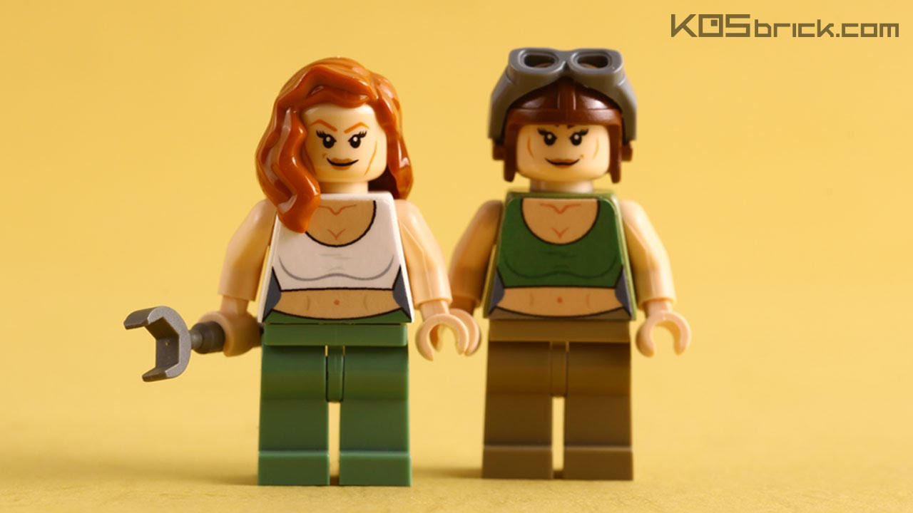 LEGO Custom Minifigure Torso Without Using Water Slide Decals Tutorial CC Subs