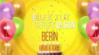 İyi ki doğdun BERİN- İsme Özel Doğum Günü Şarkısı (FULL VERSİYON)