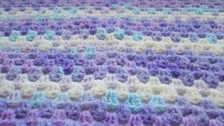 В'язання дитячого пледа гачком.Просто і красиво! How to crochet a baby blanket.