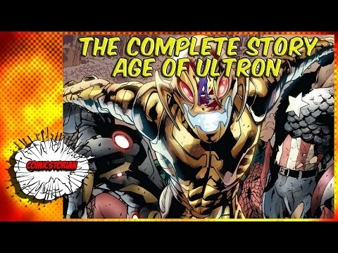 Age Of Ultron - Complete Story | Comicstorian