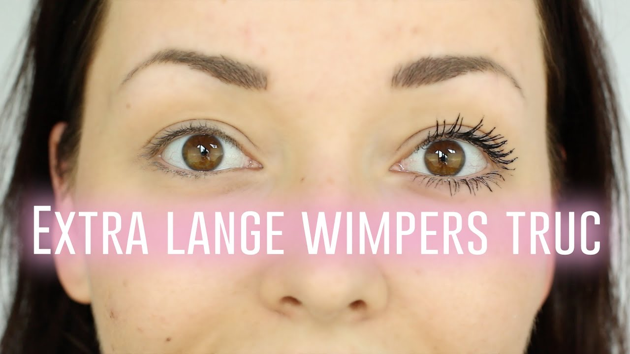 Verbazingwekkend Extra lange wimpers truc   Beautygloss - YouTube QH-58