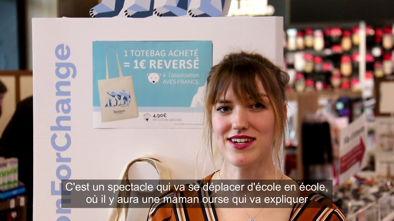 01e1d5d3a678cf Gifts for Change - Interview Besson Chaussures - YouTube