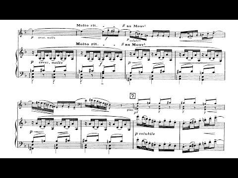 Cello Sonata (Debussy) - Sheet Music