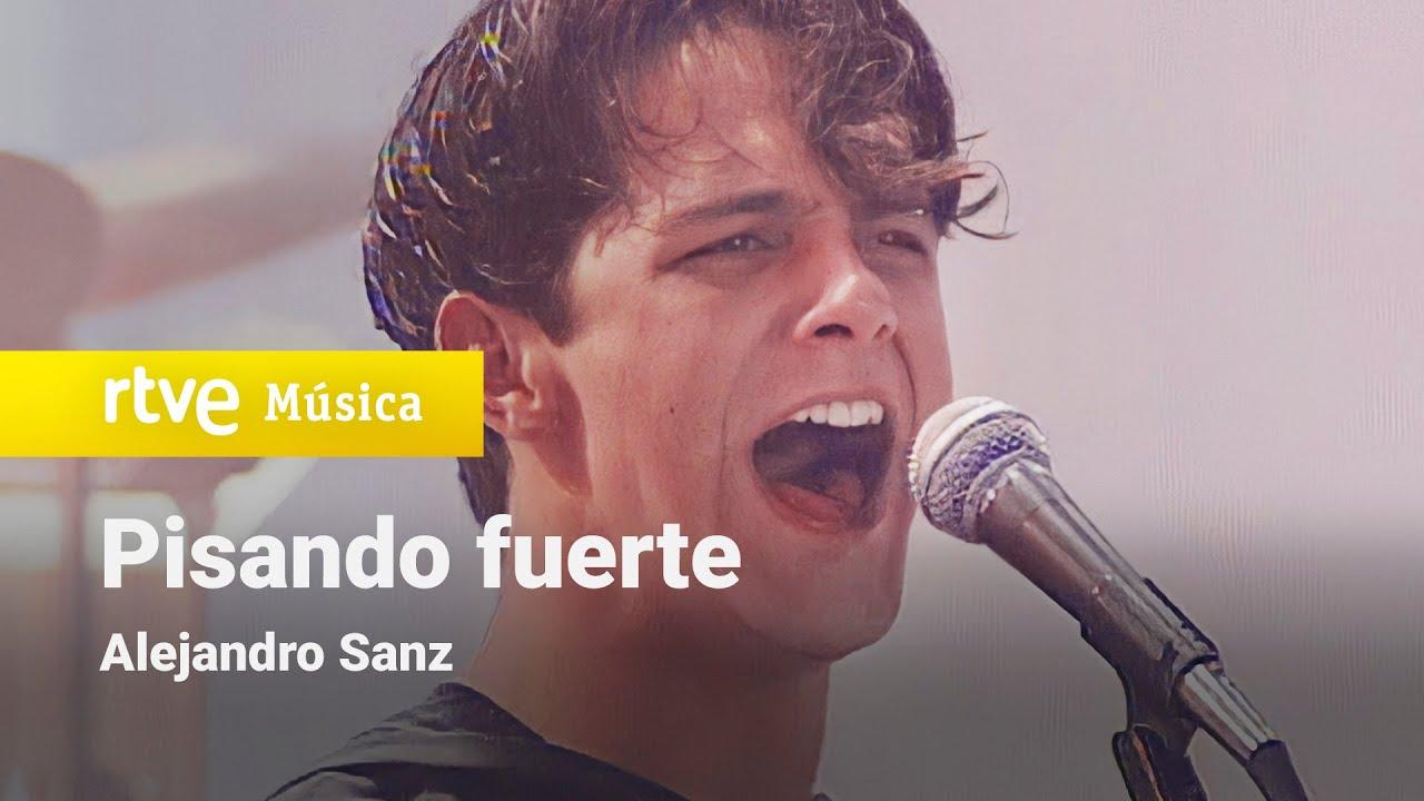 "Alejandro Sanz - ""Pisando fuerte"" (1991)"