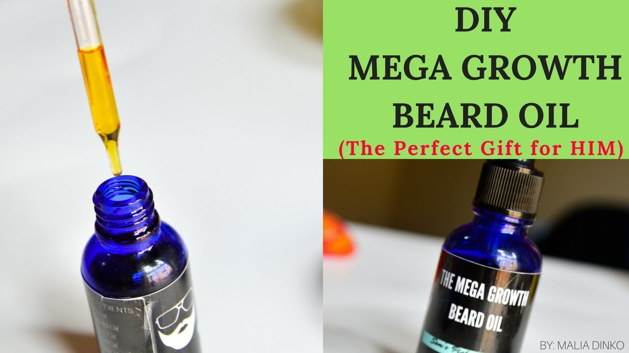 DIY BEARD OIL For COARSE and CURLY HAIR