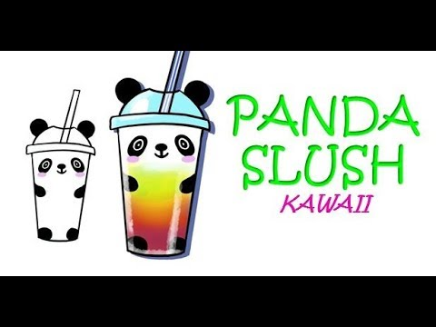 Kawaii Panda Selber Malen Wie Zeichnet Man Einen Panda Slush Einfach