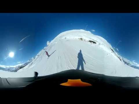 Gudauri Georgia Snowboard 360