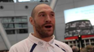 TYSON FURY - 'I WONT GET A POINTS DECISION IN GERMANY, I'LL HAVE TO KNOCK HIM OUT' /KLITSCHKO v FURY